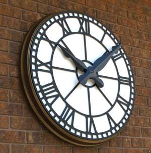 LUMICHRON introduces a new open-face Roman dial clock.
