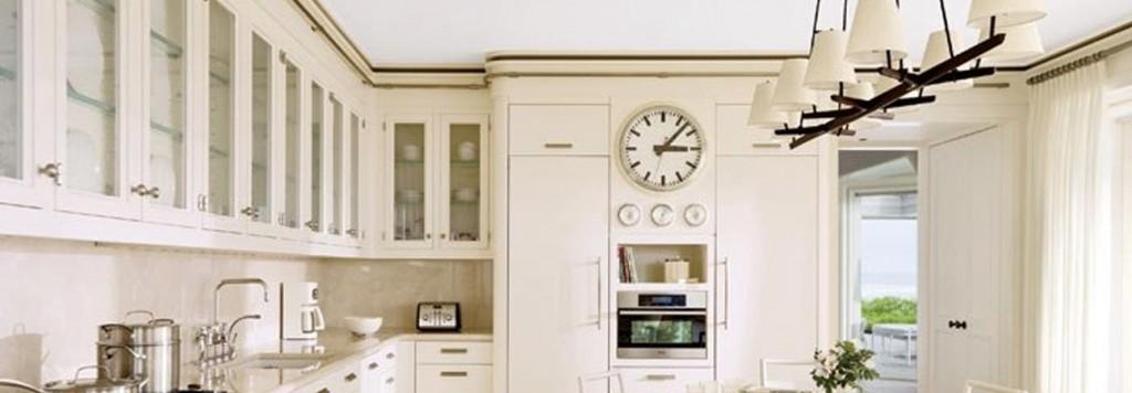 Kitchen Clock, Custom wall clock, Architectural Digest, Tower Clock