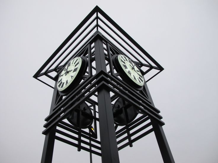 Tower Clock; Semi-Flush Mount Clock