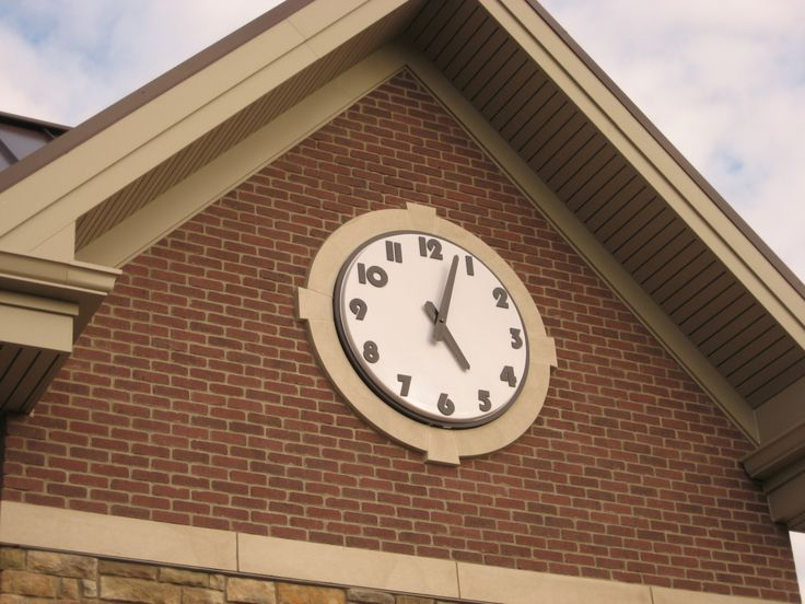 Tower Clock; Outdoor Clock; Flush Mount Clock