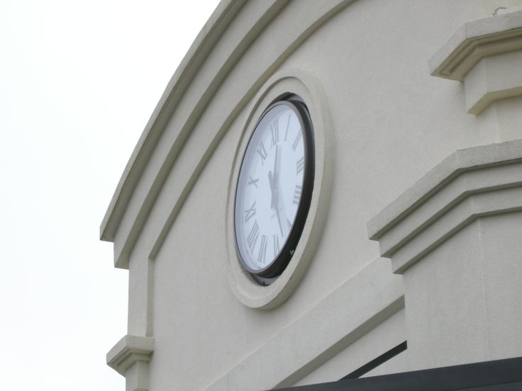 Tower Clock, Outdoor Clock, Semi-Flush Mount Clock