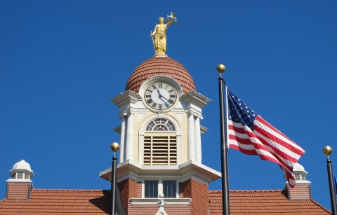 Oconto cupola completed 9-17-14