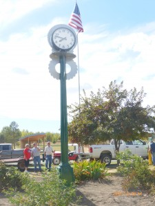 Scenic 6 - Post Clock, Exterior Clock, Custom Clock