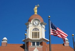 Oconto County Courthouse Tower Clock Restoration