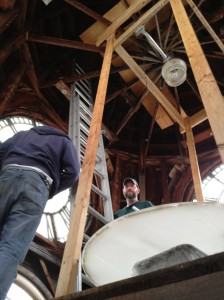 Oconto County Courthouse Exterior Tower Clock Restoration