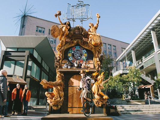 Portland Exterior Cuckoo Clock