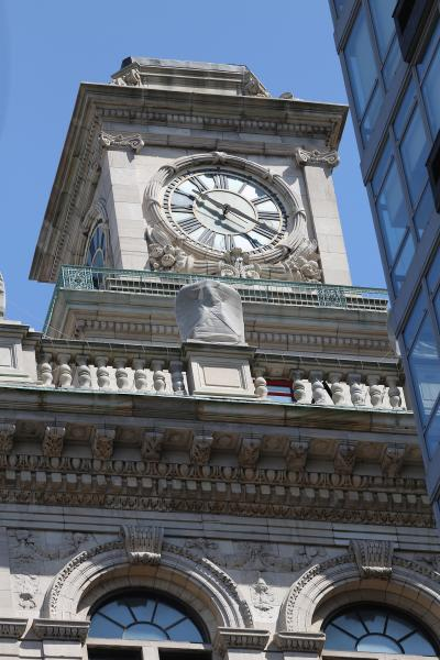 historic custom made clock tower with mechanical tower clock movement in peril