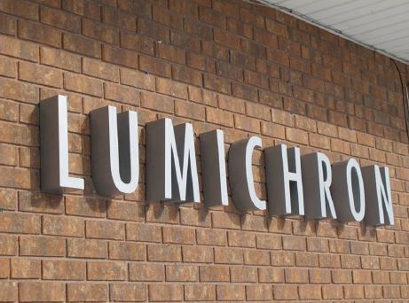 Lumichron Sign - Fascia
