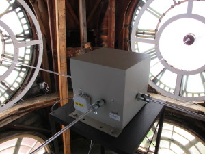 CAMPA by Clock-O-Matic, Tower Clock Restoration, Clock Tower Restoration, Clock Tower, Tower clock,m Oconto County Courthouse, LUmichron