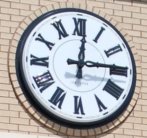 Jackson Prep 48-inch Roman Clock