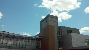 LUMICHRON tower clocks, WIU, Western Illinois University, Outdoor Tower Clock, Clock Tower