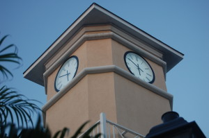 Outdoor Tower Clock and Exterior clock with case clock, enclosed tower clock, glass crystal