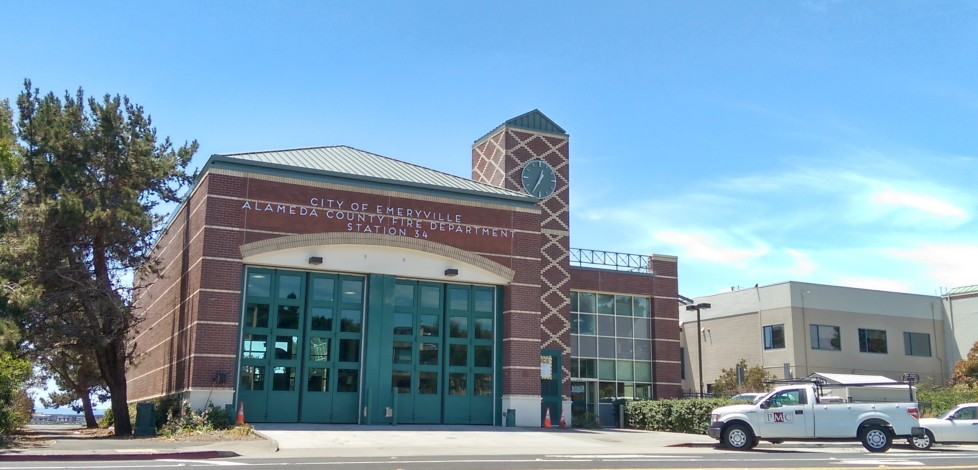 Fire Station's New Tower Clock