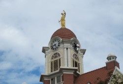 Courthouse tower clock restoration completed