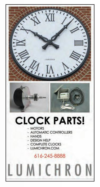 Ad Image for Tower Clock Parts for Tower Clocks, Outdoor Clock Parts, Tower Clock