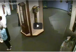 Do Not Touch The Priceless Museum Clocks!
