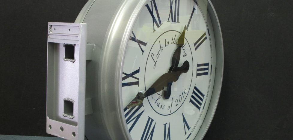 The Class of 2016 gifts a Clock to the John Thomas Dye School
