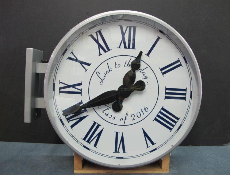 photo30 bracket clock John Thomas Dye School, Bel-Air, 11414 Chalon Rd, Los Angeles, CA 90049