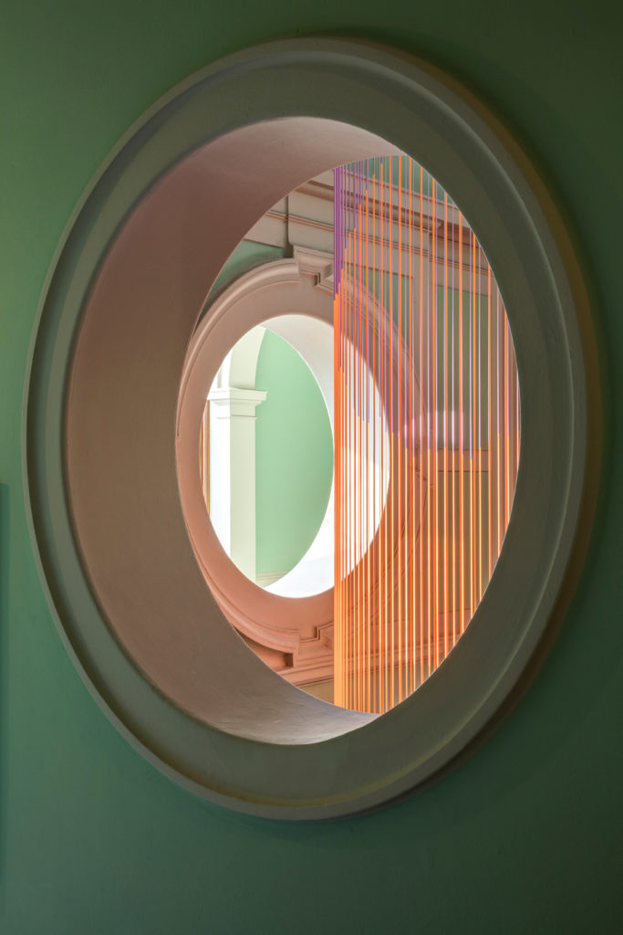 London Design Festival, Victoria and Albert Museum, Glithero, The Green Room, Abstract Clock