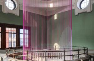 Clock Installation, Clock Art, London Design Festival, LDF 2016, V&A, Victoria and Albert Museum, Glithero, The Green Room, Abstract Clock