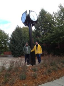 LUMICHRON Post Clock, Concordia University, Seward, Nebraska