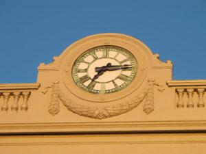 Clock Restoration, BRonze Dial, roman Dial, Clock Hands