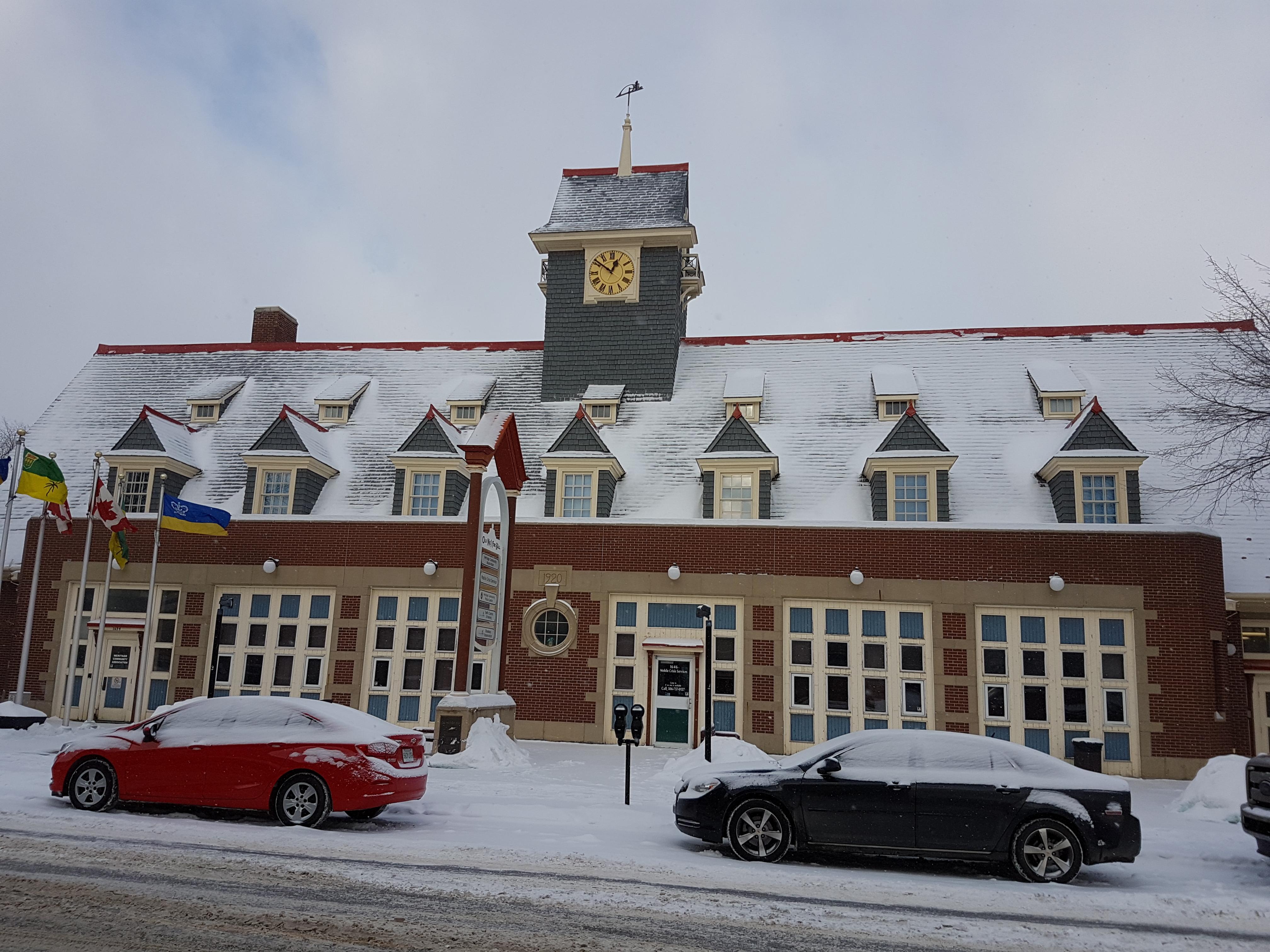 restoration, tower clock, fire station clock, Regina