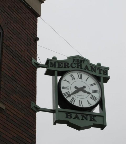 Bracket Clock; Corner Bracket Clock; Dial: Standard Roman, Hands: Roman Spade