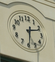 Skeletal Clock; Outdoor Clock; Tower Clock;
