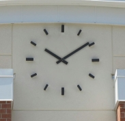 Skeletal Clock; Outdoor Clock