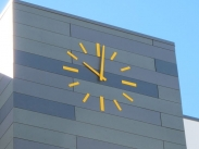Skeletal Clock; Tower Clock; Outdoor Clock; Dial: Skeletal Type C, Hands: Straight Block