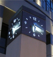 Illuminated Clock; Tower Clock